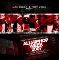 AllHipHop.com Hip Hop Week 2007 mixtape cover art