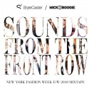 Sounds From The Front Row mixtape cover art