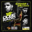 Rap Dose Radio mixtape cover art