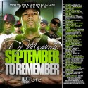 September To Remember mixtape cover art