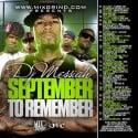 September To Remember mixtape cover art