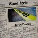 Thad Reid - Target Practice mixtape cover art