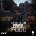 Hit Skrewface - Free Food mixtape cover art
