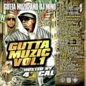 Gutta Muzic, Vol. 1 (Hosted by 40 Cal) mixtape cover art