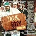 Talk Of The City mixtape cover art