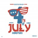 4th of July SoundTrack mixtape cover art