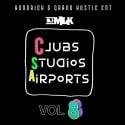 Clubs Studio Airports 8 mixtape cover art