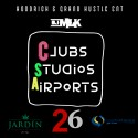 Clubs Studios Airports mixtape cover art