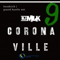 #Coronaville 9 mixtape cover art