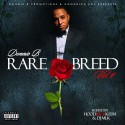 Donnie B - Rare Breed mixtape cover art