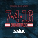 July 4th Soundtrack mixtape cover art