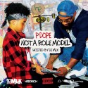 P Dope - Not A Role Model mixtape cover art