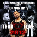 Thug Love 2012 mixtape cover art