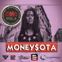 MoneySota 8 (Hosted By Waka Flocka) mixtape cover art