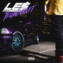 Le$ - E36 (Techno Violet) mixtape cover art