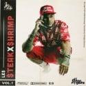 Le$ - Steak X Shrimp Vol. 1 mixtape cover art