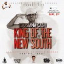 Louisiana Ca$h - King Of The New South mixtape cover art