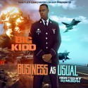 Big Kidd - Business As Usual mixtape cover art