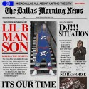 Lil B Man - #LilBManSon mixtape cover art