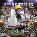 Sour Diesel 13 mixtape cover art