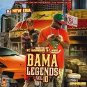 Bama Legends 10 (Hosted By Tc Gambino & Jabo) mixtape cover art