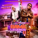 Bama Legends 11 (Hosted By Lil Mook & King Kuma) mixtape cover art