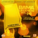 Bama Legends 14 (Hosted By Jr Boss & Rare Breed) mixtape cover art