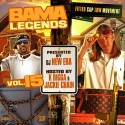 Bama Legends 15 (Hosted By K Digga & Jackie Chain) mixtape cover art