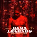 Bama Legends 16 (Hosted By Photo Slim & MP) mixtape cover art