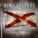Bama Legends 7 (Hosted By 5ive 7even & Gritty Boi) mixtape cover art