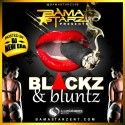 Bama Starz - Blackz & Bluntz mixtape cover art
