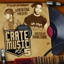 Crate Music 5 (Hosted By Dana Dane) mixtape cover art