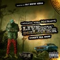 Dizzy Da Don - Live Now Die Later mixtape cover art