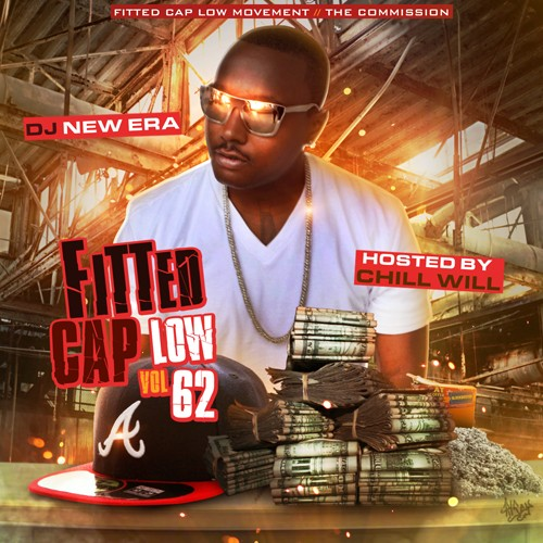 fitted cap low 62 hosted by chill will dj new era