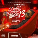 Mood Musiq 13 (Hosted By Bobby V)  mixtape cover art
