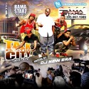 Bama Starz - Talk Of The City mixtape cover art
