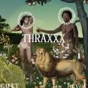 BLVCK - Thraxxx mixtape cover art