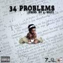 34 Nuke - 34 Problems  mixtape cover art