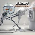 ALLxCAPS - Electrofishing mixtape cover art