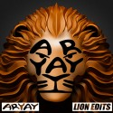 Aryay - V Rare Lion Edits mixtape cover art