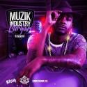 BJ Bowers - Muzik Industry Burglar mixtape cover art