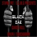 Black Zae - Cause Hell When I Touchdown mixtape cover art