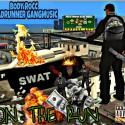 BodyRocc - On The Run mixtape cover art