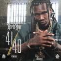 Borde Rico - 41/40 mixtape cover art