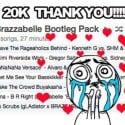 Brazzabelle - 20K Bootleg Pack mixtape cover art