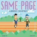 Coarse Company - Same Page mixtape cover art