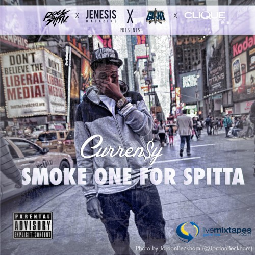 Curren$y – Smoke One For Spitta [Mixtape]