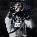 D-Aye - Livin Life Fast 5 mixtape cover art