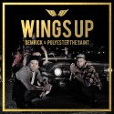 Demrick & Polyester The Saint - Wings Up mixtape cover art
