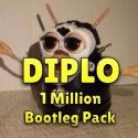 Diplo - 1 Million Facebook Follower Bootleg Pack mixtape cover art